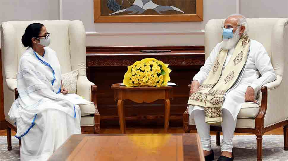 Bengal CM Mamata Banerjee meets PM Narendra Modi, raises more COVID vaccine for state