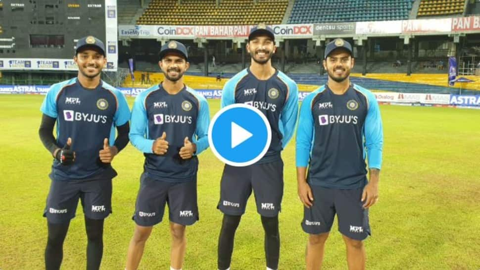 IND vs SL 2nd T20I: Devdutt Padikkal, Ruturaj Gaikwad, Nitish Rana & Chetan Sakariya react after getting maiden T20I cap – WATCH thumbnail
