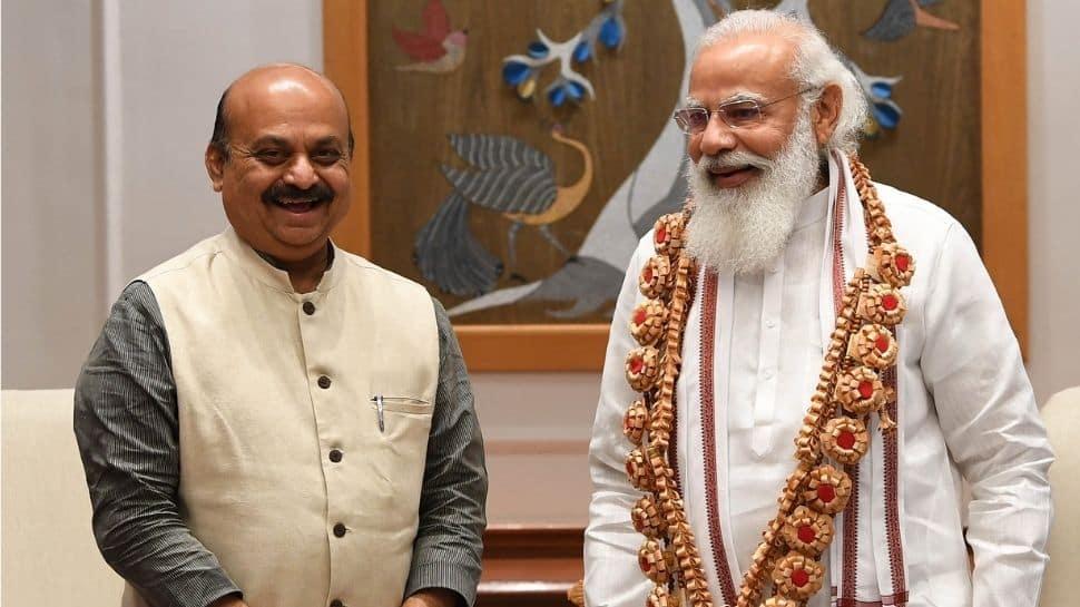 Karnataka CM Basavaraj Bommai calls on PM Narendra Modi