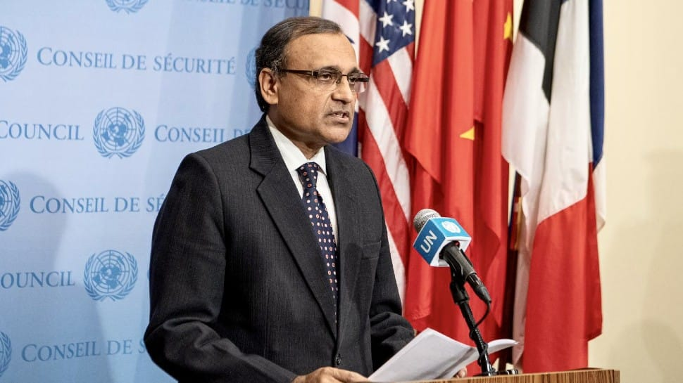 India assumes UNSC presidency; TS Tirumurti thanks France for steering Council in July | India News | Zee News