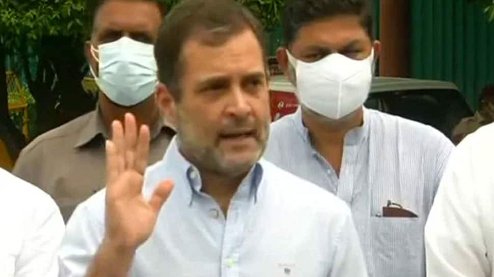 Pegasus row: Let's unite against this, Rahul Gandhi urges Opposition at the breakfast meeting