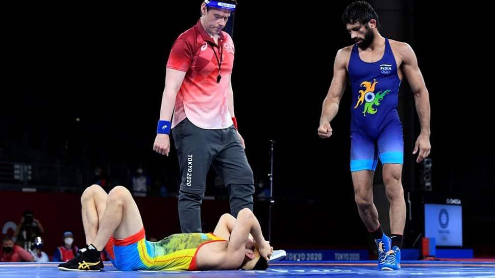 Ravi Dahiya vs Zavur Uguev 57kg freestyle gold medal match live streaming details, tv channel and timings