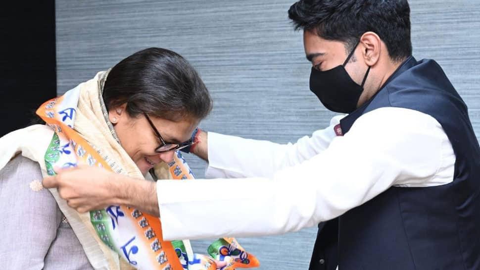 Sushmita Dev, former Assam MP who quit as Mahila Congress chief, joins Trinamool Congress