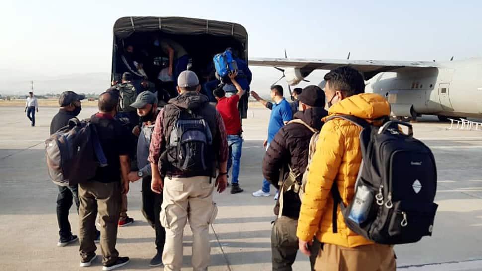 Kabul to Doha to Delhi