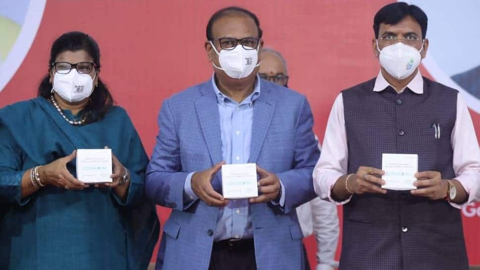 Health minister releases first batch of Covaxin from Bharat Biotech's new plant in Gujarat