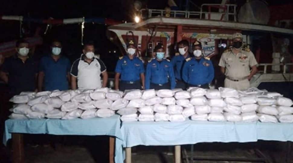 Sri Lankan Navy seizes over 290 kg of heroin worth more than Rs.2321 million