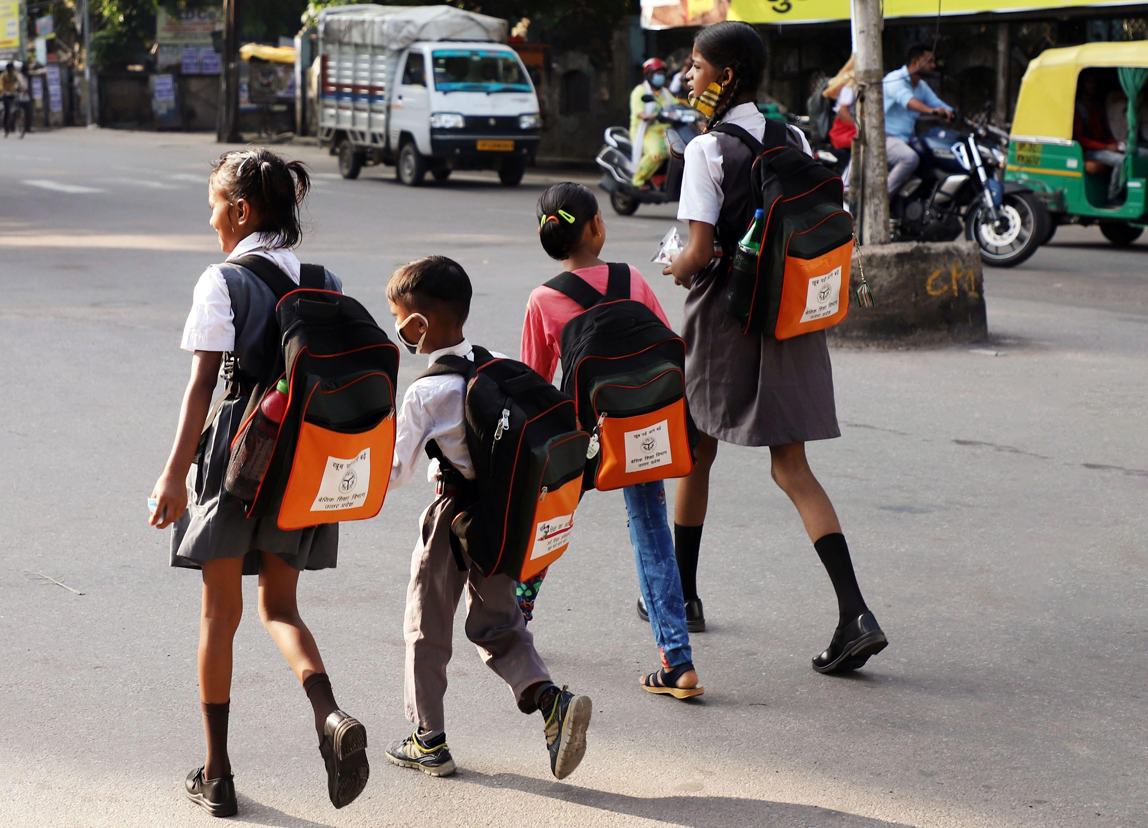 Schools reopen in Uttar Pradesh