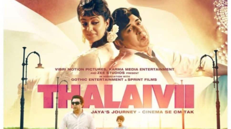 Kangana Ranaut slams major multiplex chains for refusing to screen 'Thalaivii', accuses them of 'bullying'
