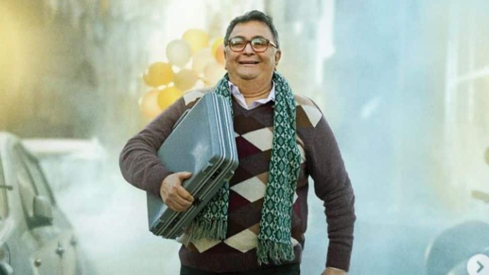 'Sharmaji Namkeen' makers release first poster of Rishi Kapoor's last film