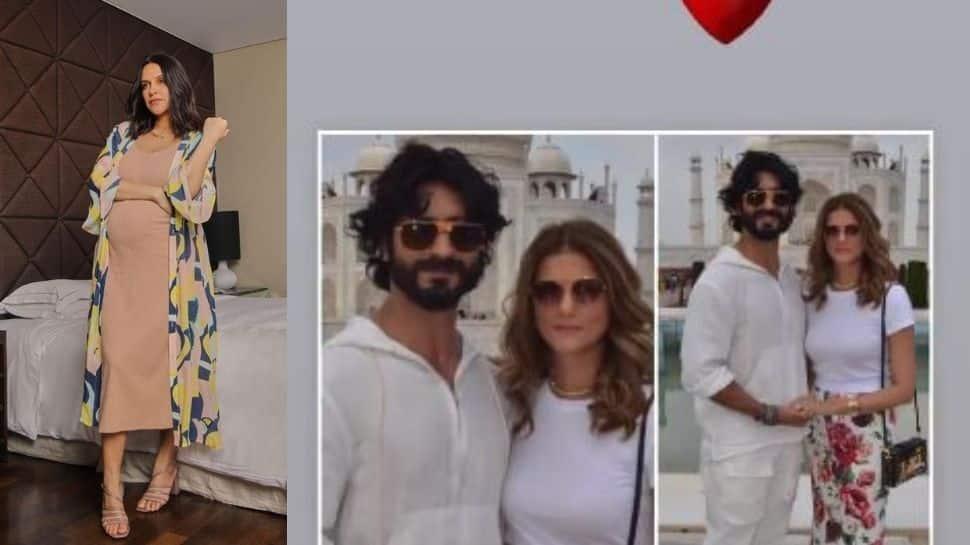 Did Neha Dhupia just confirm Vidyut Jammwal, Nandita Mahtani's engagement at Taj Mahal?