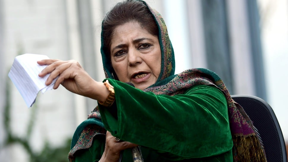 This is new India's naya Kashmir: Mehbooba Mufti criticises Centre for FIR over draping of Syed Ali Shah Geelani's body in Pak flag