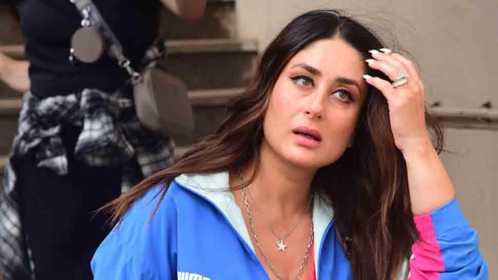 Kareena Kapoor Khan papped on sets, rocks coordinated athleisure look, see pics