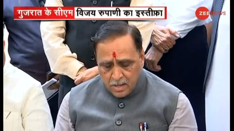 Vijay Rupani resigns as Gujarat Chief Minister