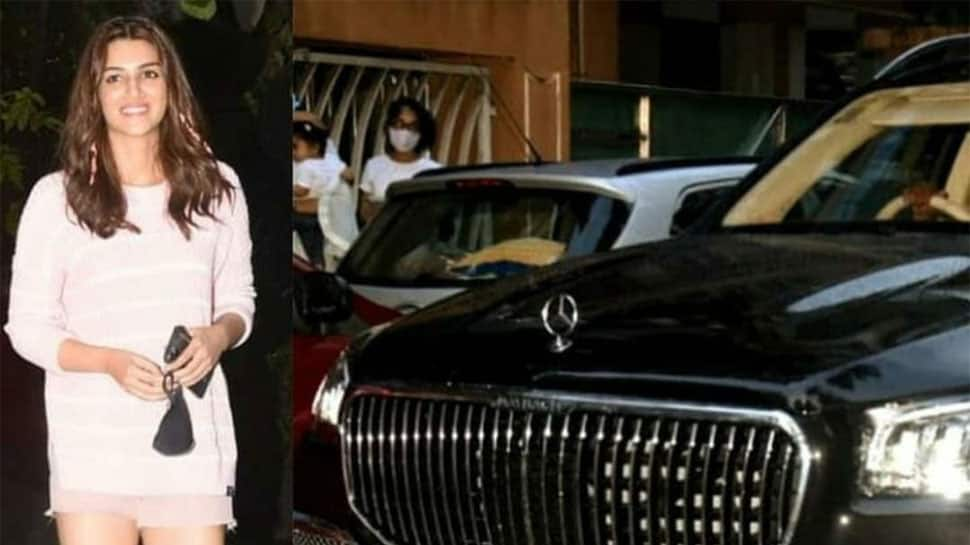 After Mimi's roaring success, Kriti Sanon buys a swanky new Mercedes-Maybach GLS 600 car priced over Rs 2 cr – Watch
