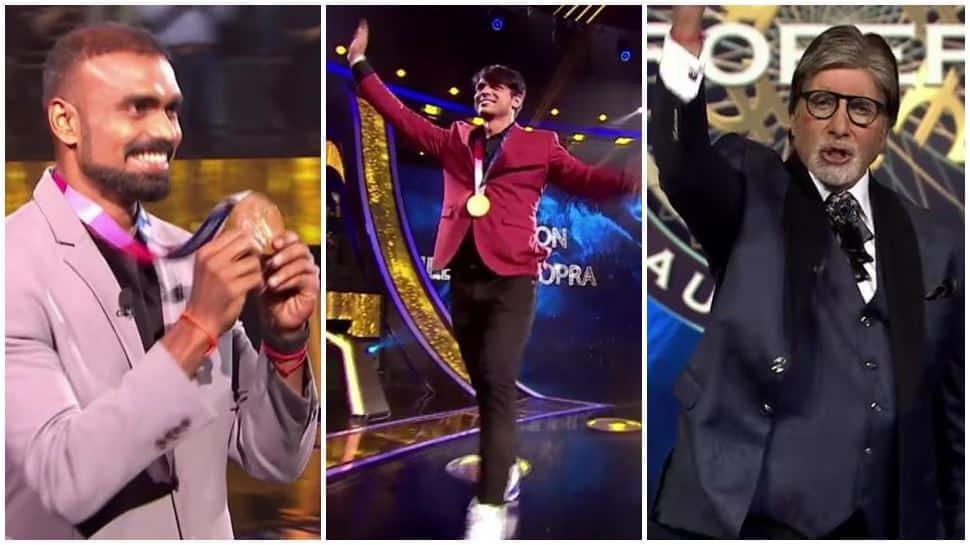 Olympic champions Neeraj Chopra, PR Sreejesh to grace Kaun Banega Crorepati hotseat - Watch video