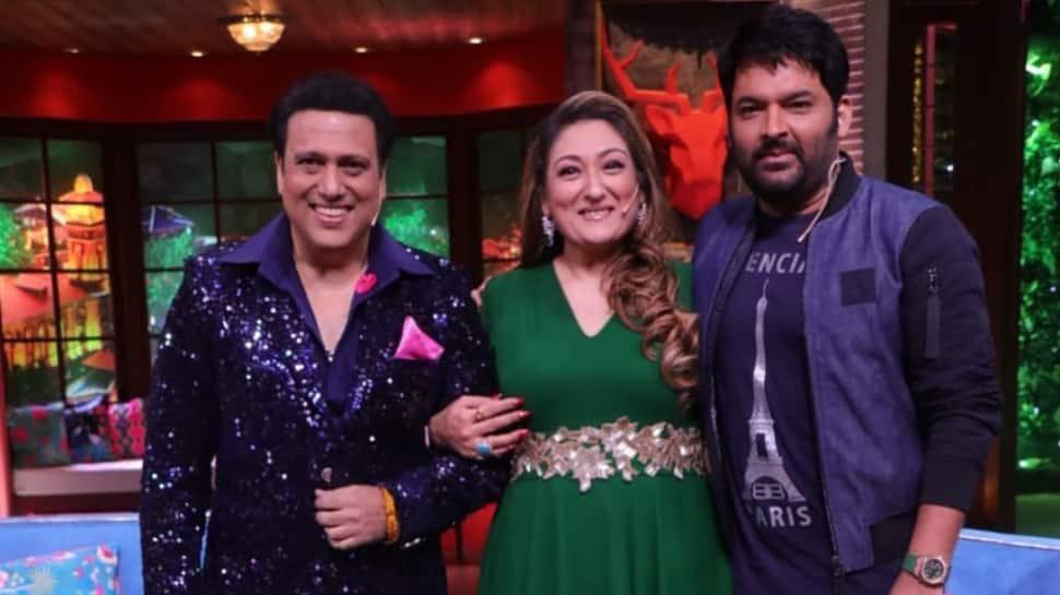 'Kiss me and find out' Sunita Ahuja tells hubby Govinda on The Kapil Sharma Show