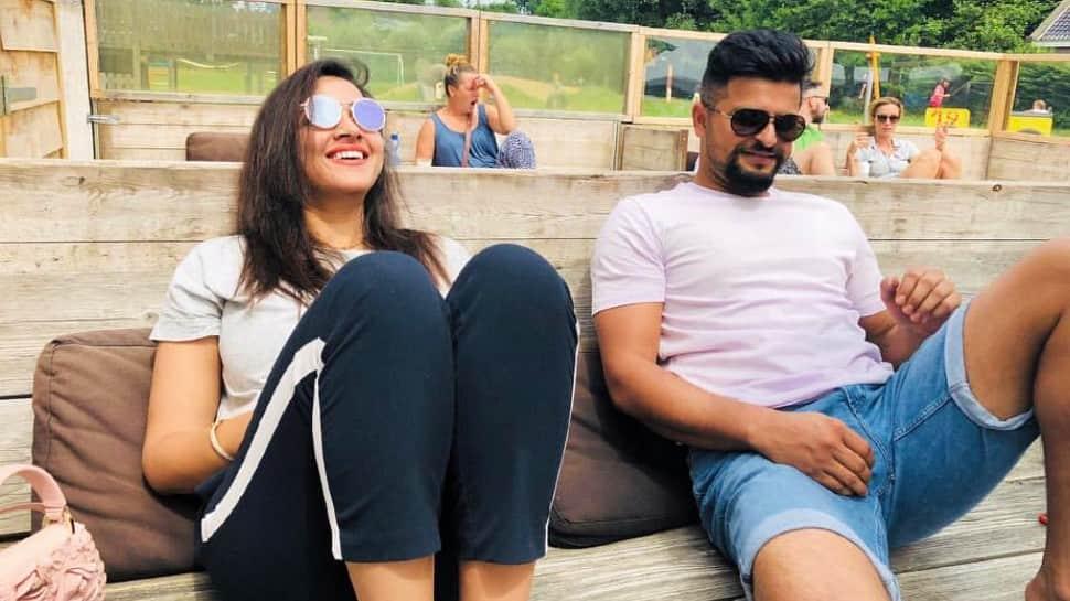 IPL 2021: CSK's Suresh Raina wants to be on Big Boss, goes romantic with wife Priyanka, Watch