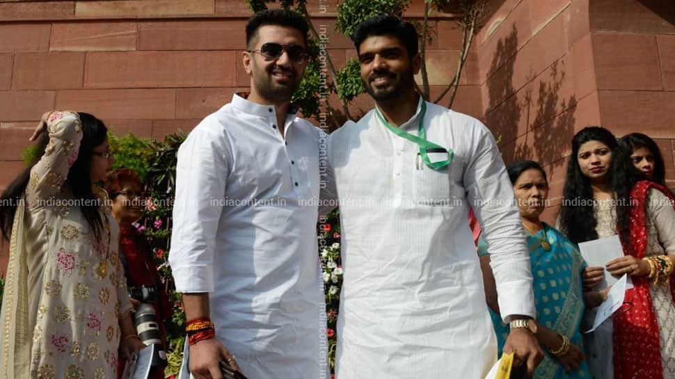 Prince Raj, Chirag Paswan's cousin and Lok Janshakti Party MP from Bihar's Samastipur, booked for alleged rape thumbnail