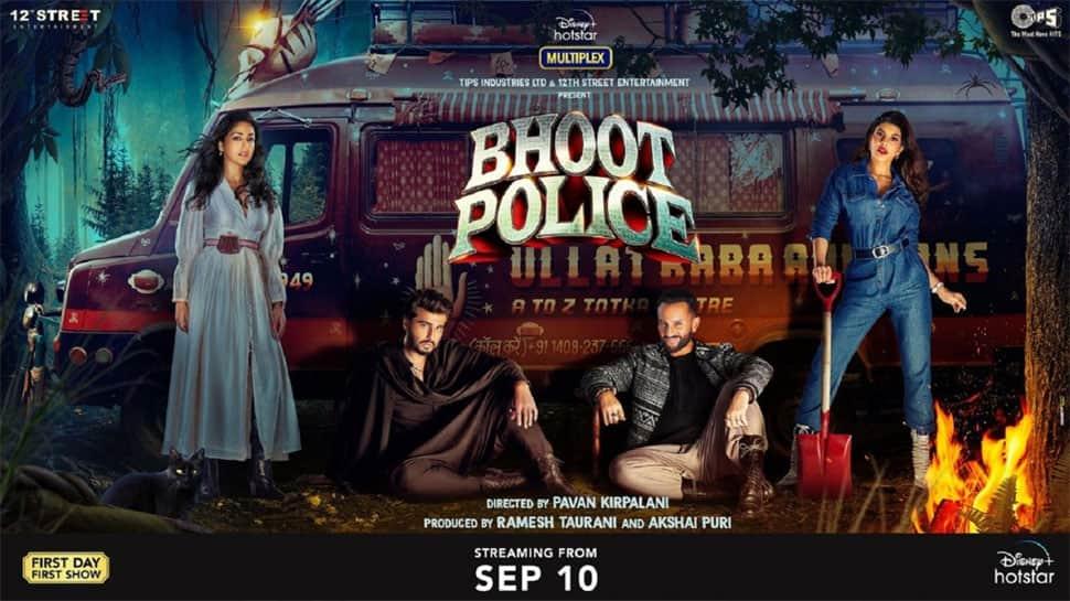 Saif Ali Khan-Arjun Kapoor's Bhoot Police becomes the most-watched Hindi movie this festive season! thumbnail