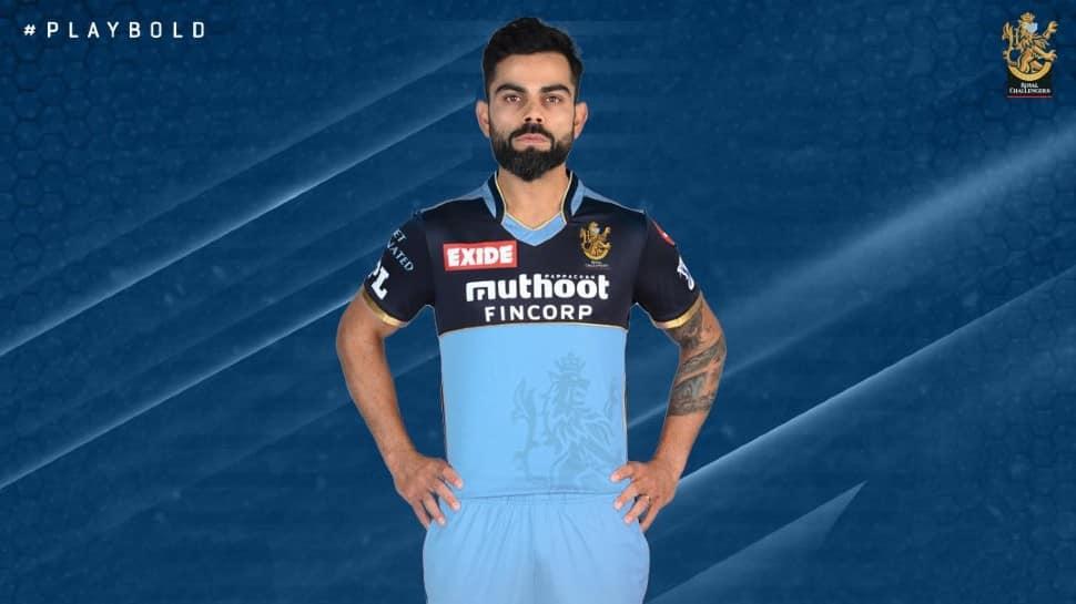 IPL 2021: Virat Kohli-led RCB to sport blue jersey against KKR on September 20, here's why thumbnail