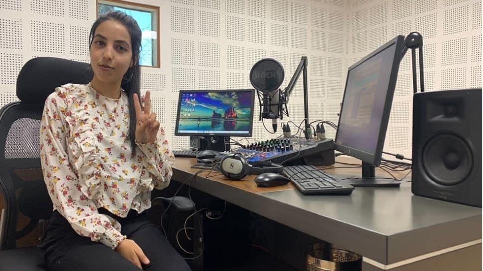 Kashmir's youngest female RJ inspires hundreds of women everyday thumbnail