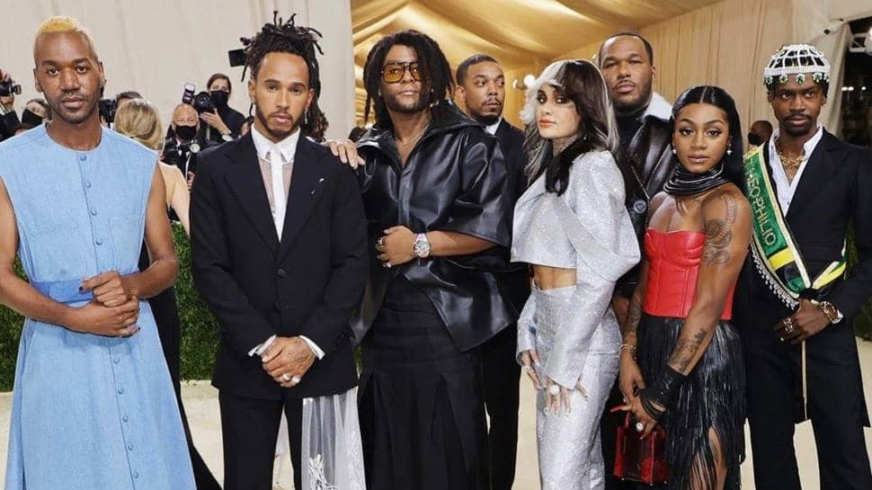 Met Gala 2021: Lewis Hamilton courts controversy by supporting 'Black creatives' thumbnail