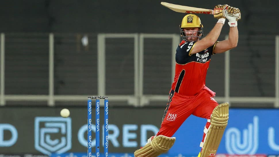 IPL 2021: RCB star AB de Villiers rings warning bells with 46-ball 104 in practice game - WATCH thumbnail
