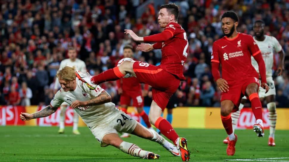 Champions League 2021: Jordan Henderson fires winner as Liverpool beat AC Milan in thriller thumbnail