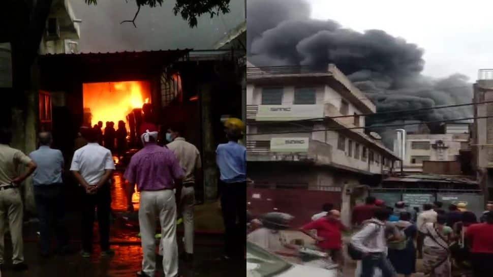 Fire breaks out in factory in Delhi's Mayapuri area, 17 fire tenders rushed to spot thumbnail