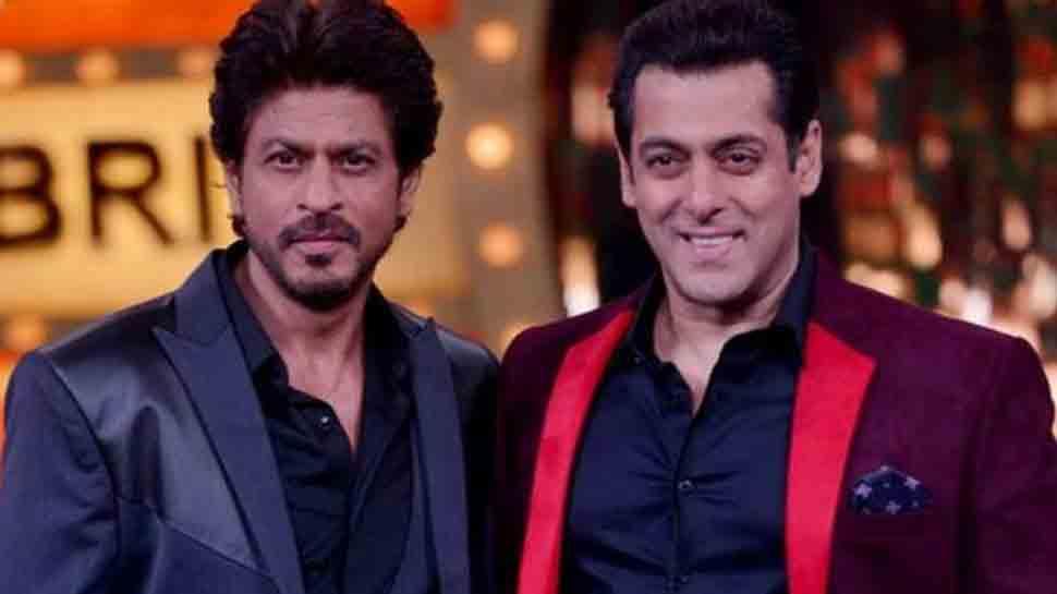 Shah Rukh Khan says 'Thanks bhaijaan' as Salman Khan cheers for his SiwaySRK ads thumbnail