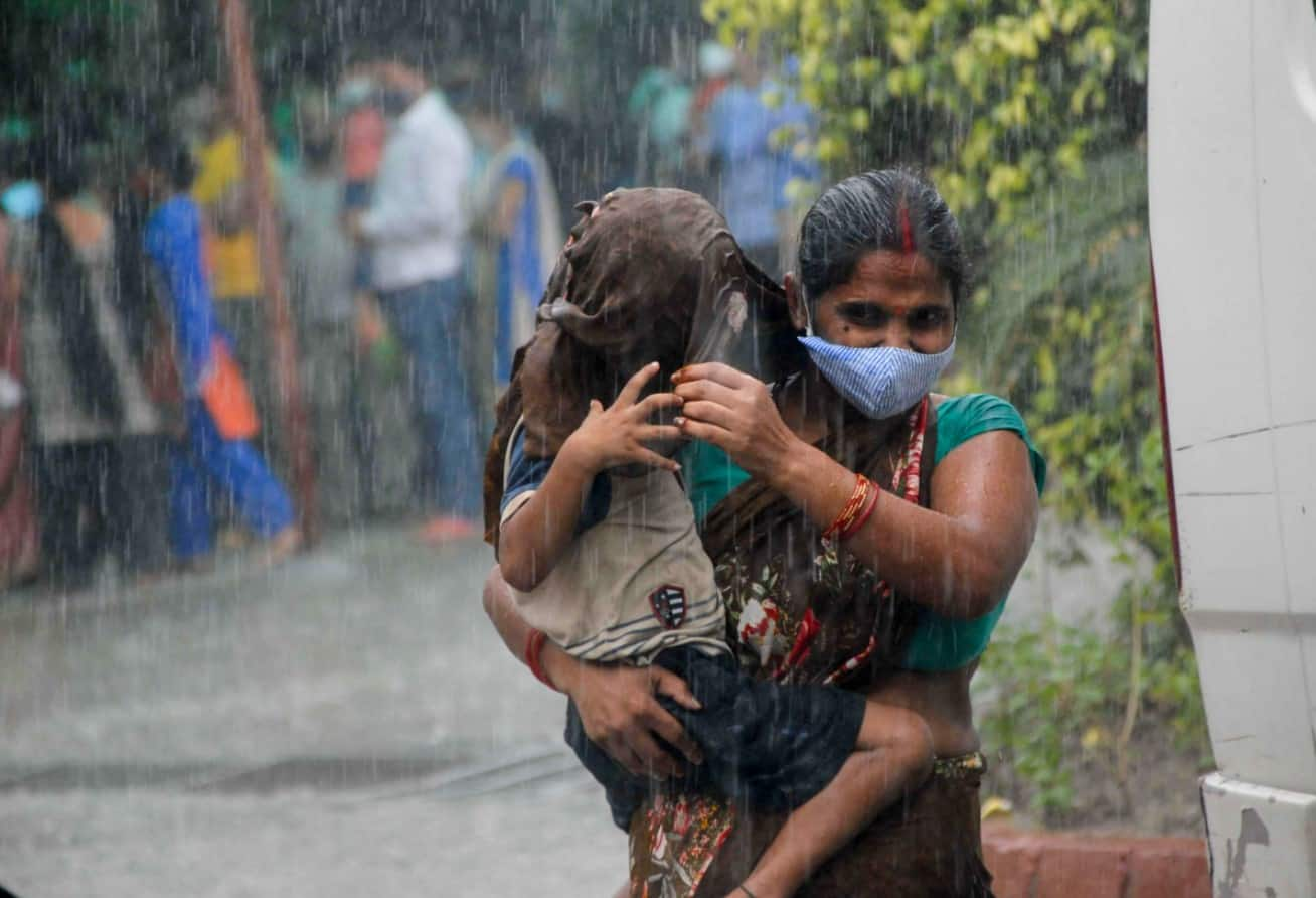 Widespread rainfall activity over Rajasthan and Gujarat