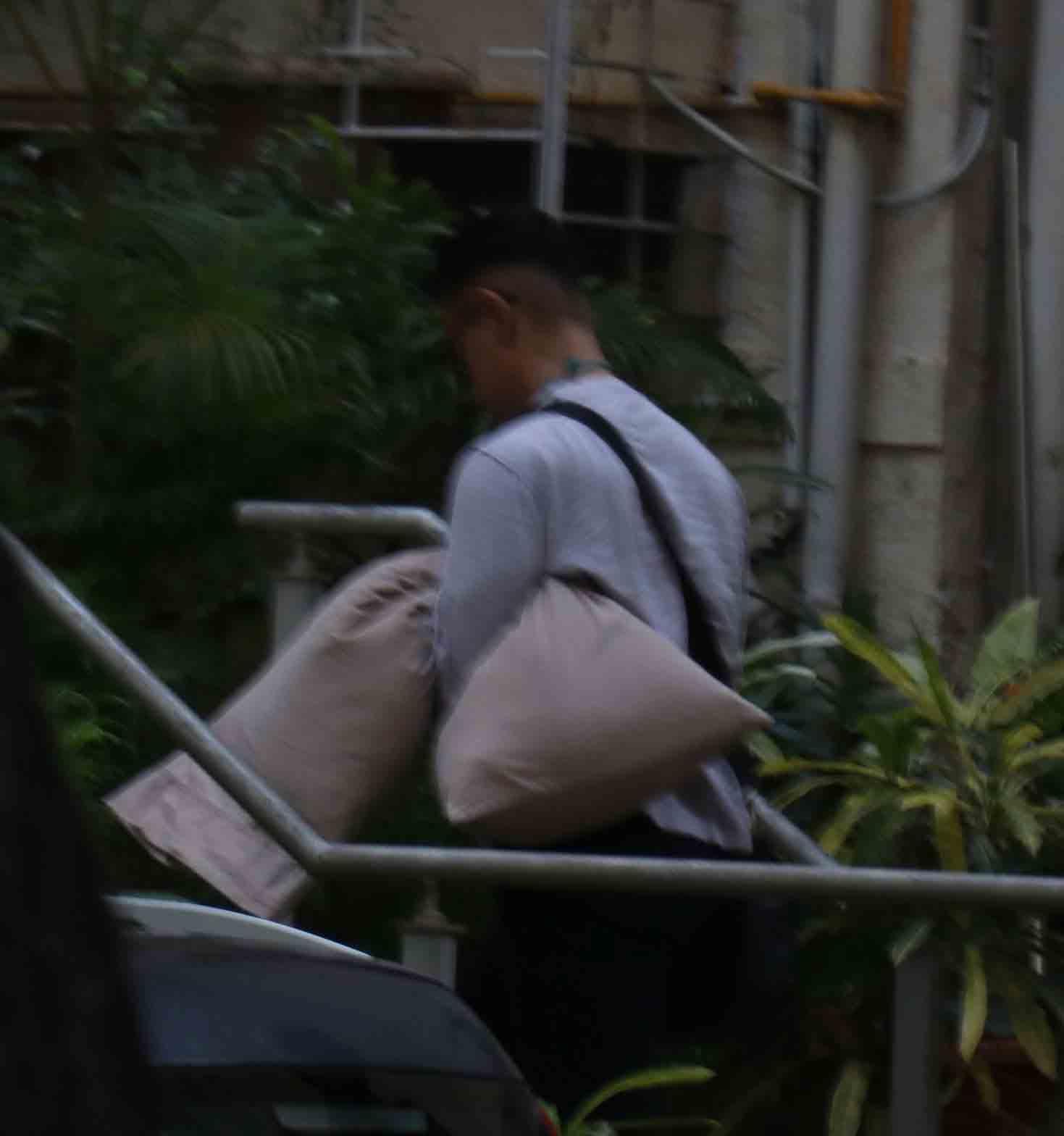 Aamir Khan spotted in Mumbai