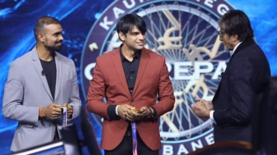Neeraj Chopra, PR Sreejesh win Rs 25 lakhs on KBC 13 by answering THIS question