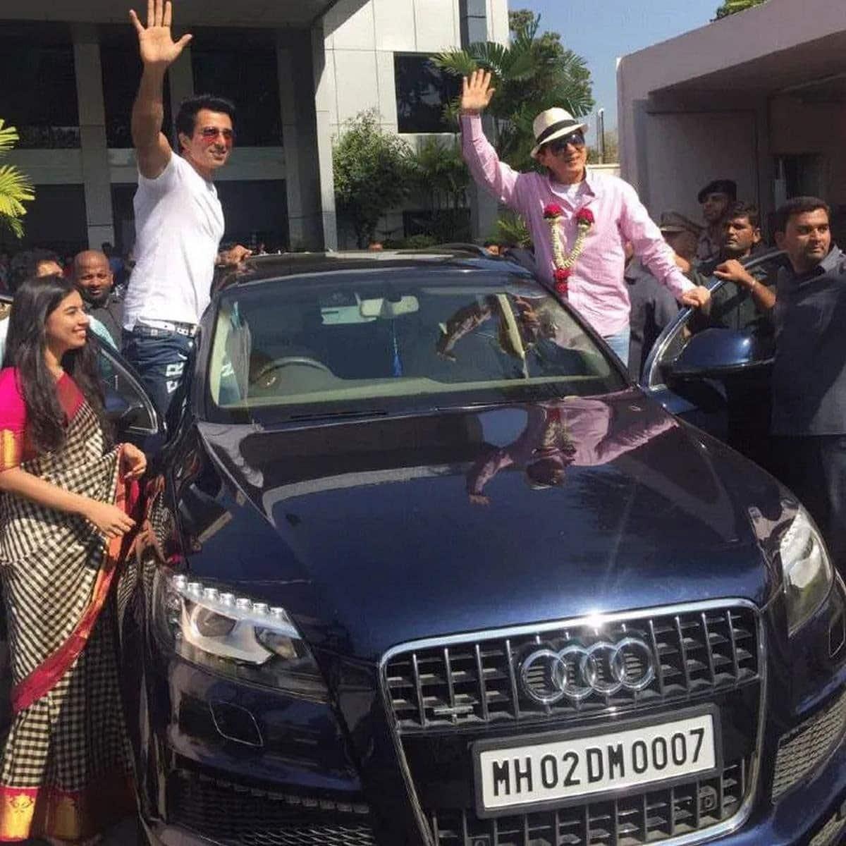 Sonu Sood owns a Audi Q7