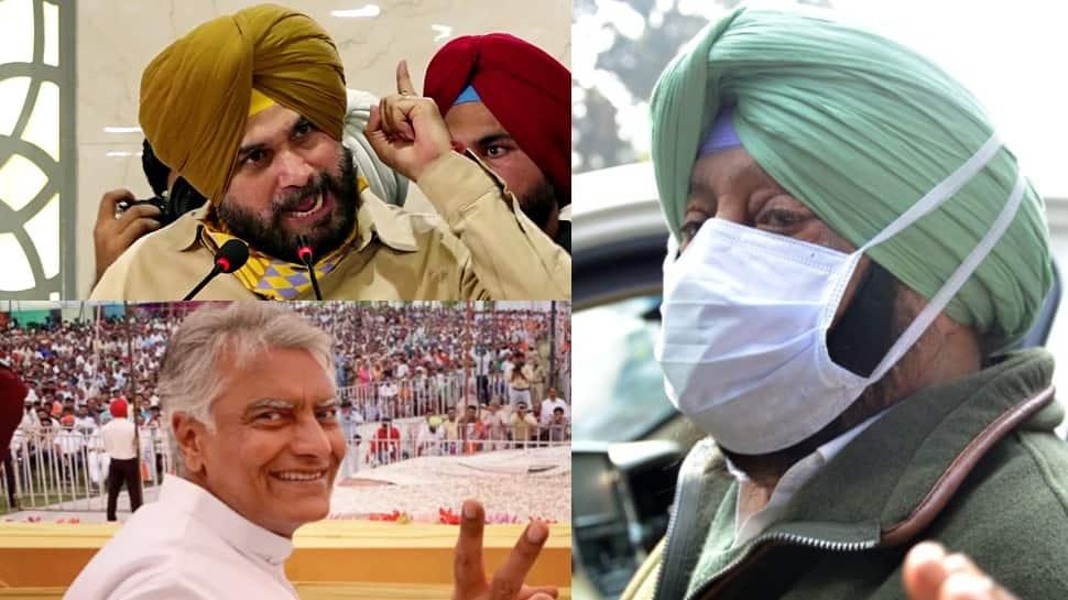 Navjot Singh Sidhu, Sunil Jakhar, Sukhjinder Singh Randhawa are said to be the frontrunners