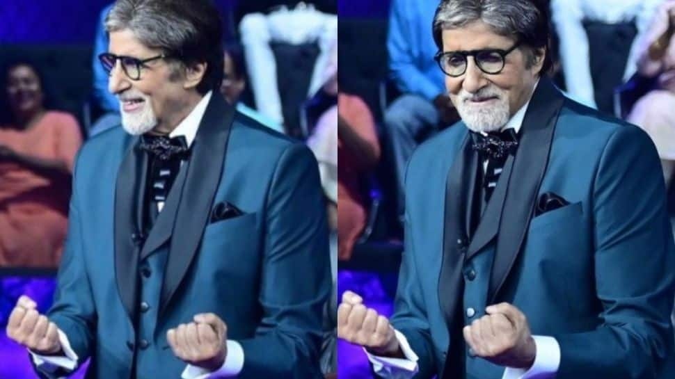 Amitabh Bachchan recreates iconic 'Jumma Chumma' step on KBC set, Ranveer Singh reacts!