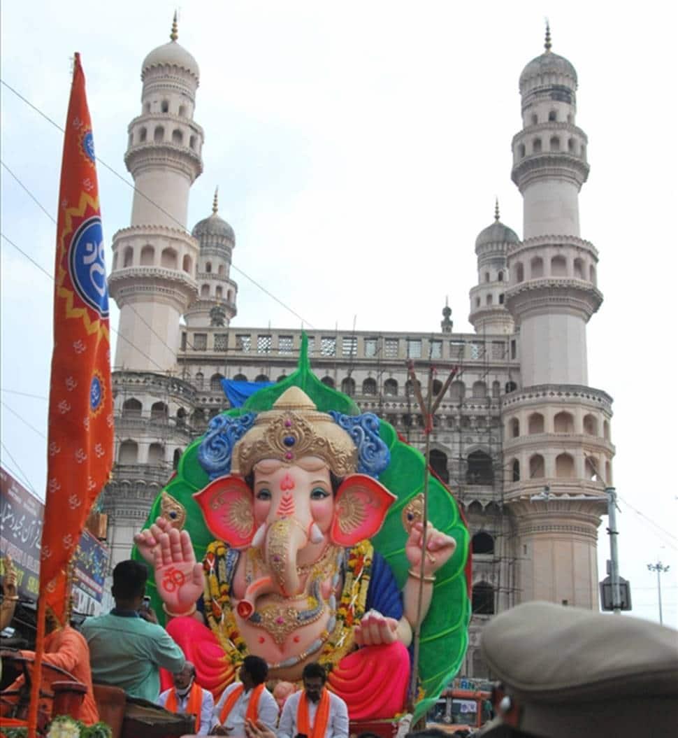 What Ganpati Visarjan traditionally means