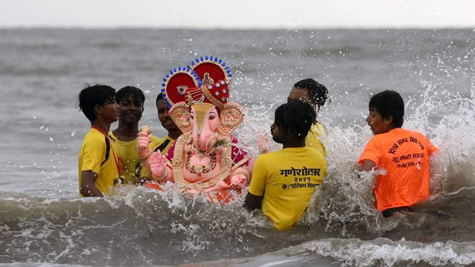 Ganpati Visarjan today