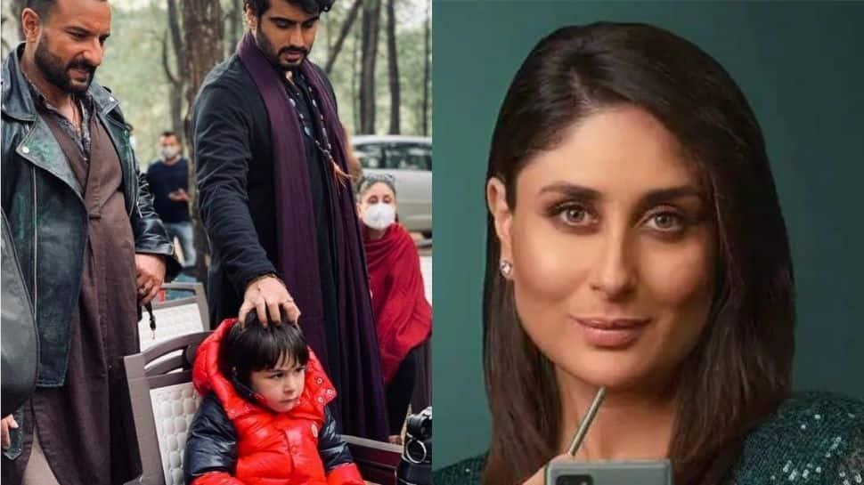 Arjun Kapoor's witty belated birthday post for Kareena Kapoor features little 'Tim' looking adorable! thumbnail