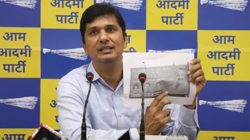 BJP lying to people of Delhi by saying MCD reduced house tax, licence fees: Saurabh Bhardwaj thumbnail