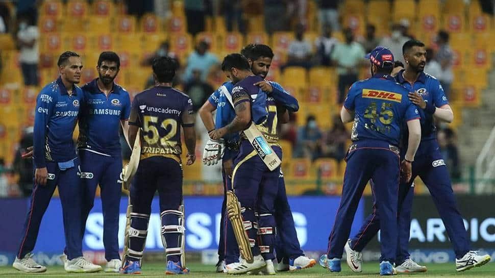 IPL 2021: Kolkata Knight Riders steamroll Mumbai Indians to enter top four thumbnail