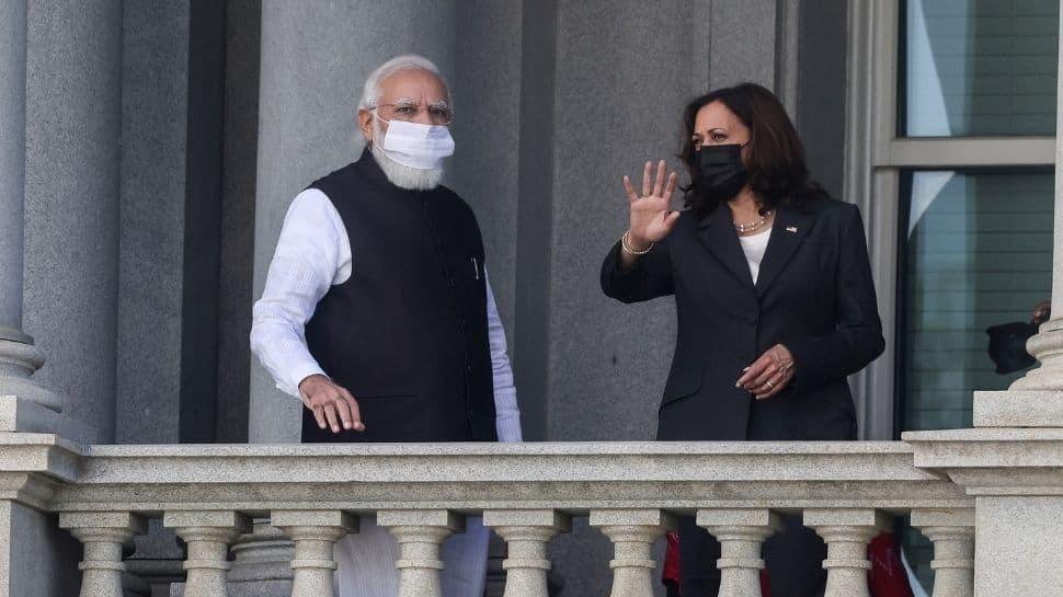 Kamala Harris and PM Narendra Modi discuss Pakistan`s role in terrorism thumbnail