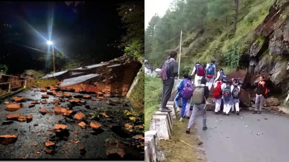 Himachal Pradesh: Landslides in Kinnaur, Shimla following heavy rains thumbnail