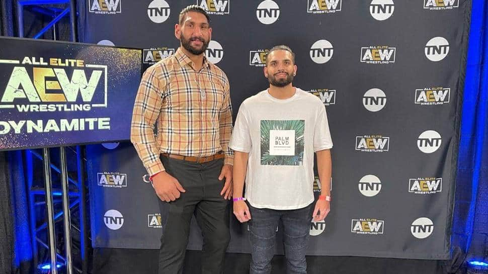 Satnam Singh, India's first basketball player to be drafted by NBA, switches to pro-wrestling thumbnail