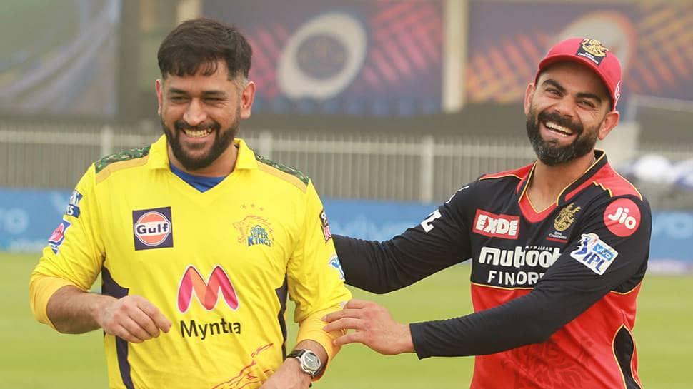 'Bromance for the ages': MS Dhoni & Virat Kohli share smiles ahead of CSK vs RCB showdown - WATCH thumbnail