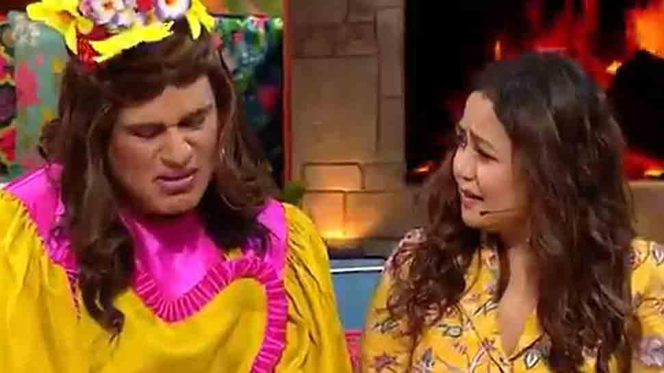 Krushna Abhishek takes dig at Neha Kakkar for her crying over sob stories on Indian Idol, singer retorts thumbnail
