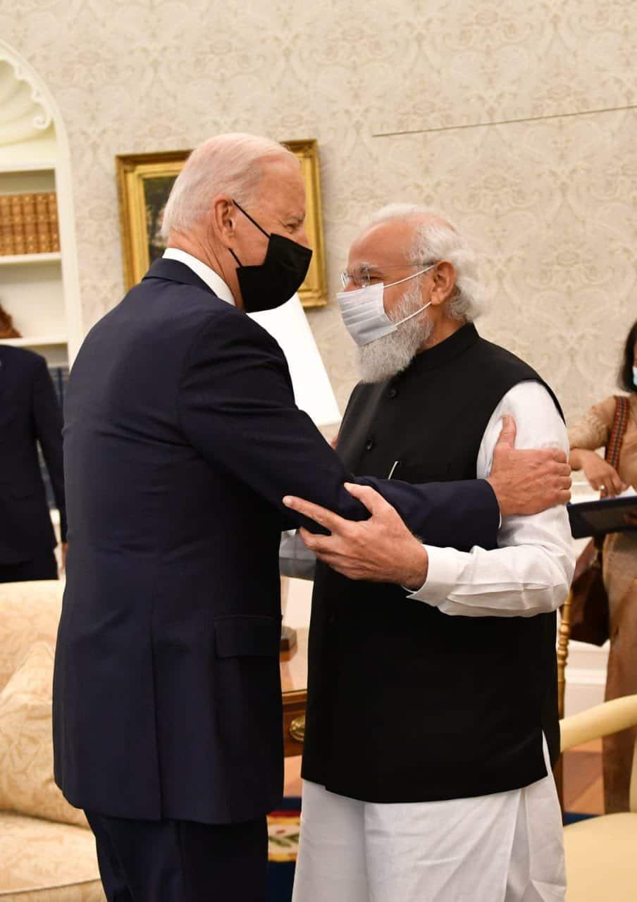 PM Modi and US President Joe Biden hold first bilateral summit