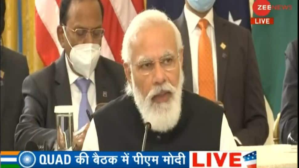 QUAD will work as a force for global good, help Indo-Pacific nations: PM Narendra Modi thumbnail