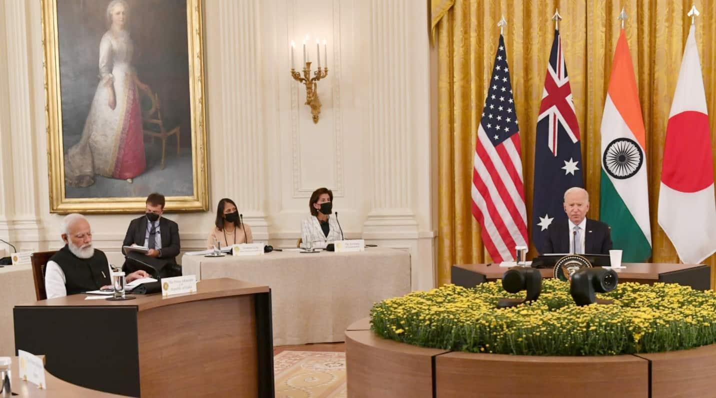US President Joe Biden at QUAD Summit