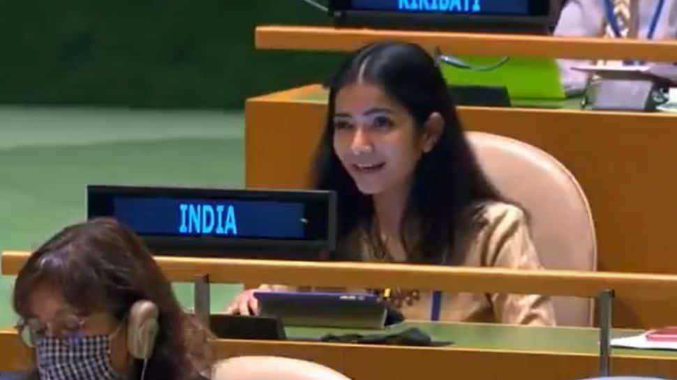 Meet Sneha Dubey, the IFS officer who tore into Imran Khan at UN thumbnail